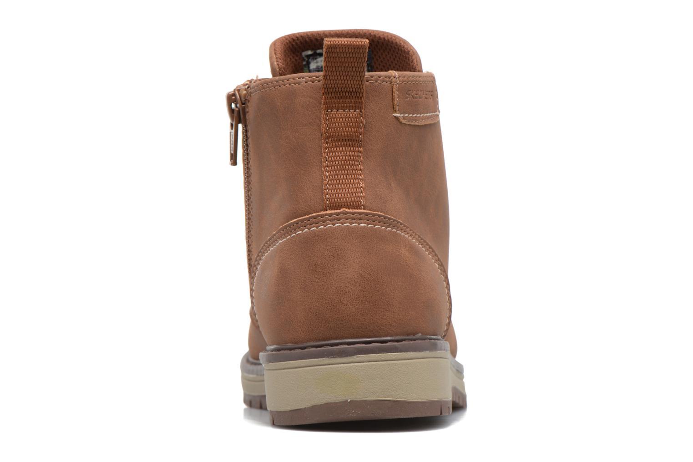 Bottines et boots Skechers Gravlen Marron vue droite