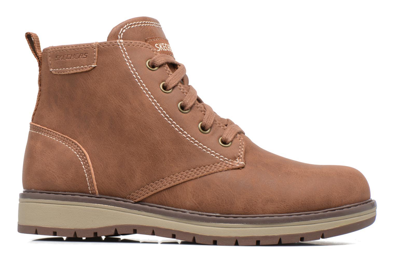 Bottines et boots Skechers Gravlen Marron vue derrière