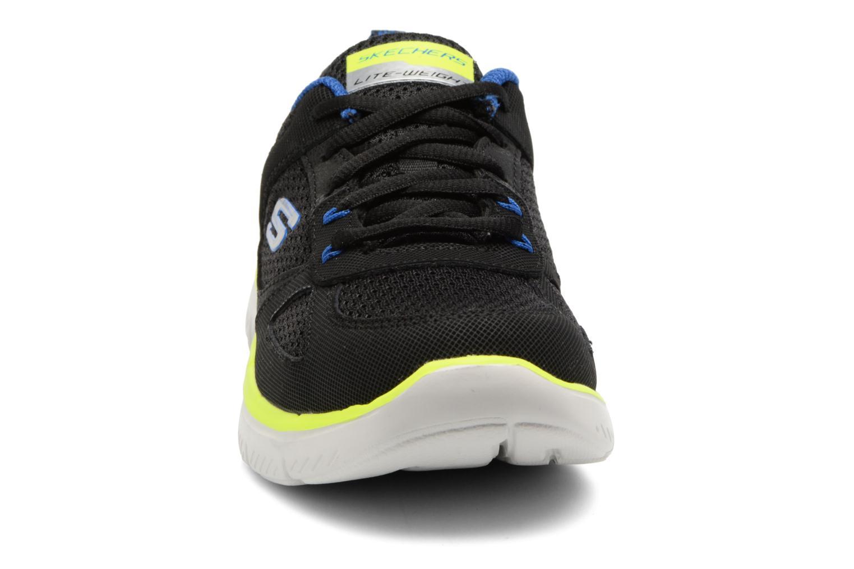 Sportschuhe Skechers Flex Advantage 2.0 K schwarz schuhe getragen