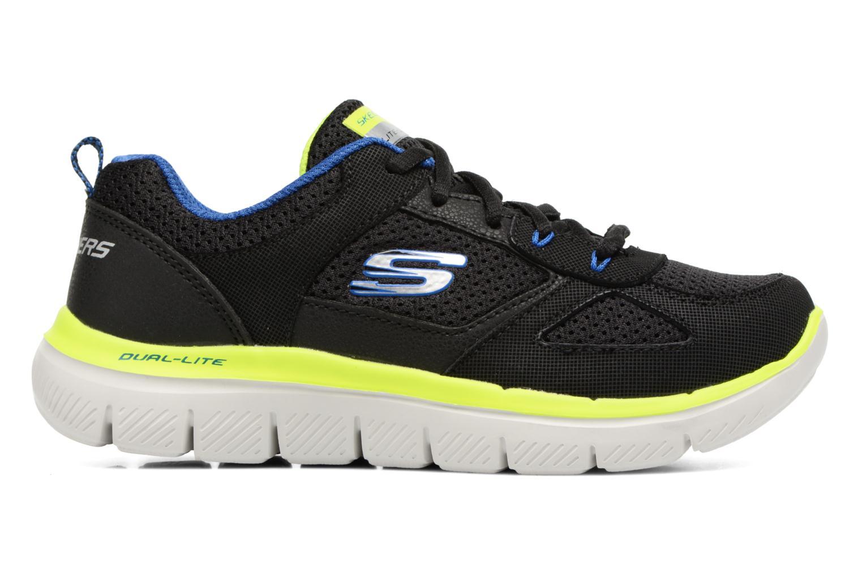 Sportschuhe Skechers Flex Advantage 2.0 K schwarz ansicht von hinten
