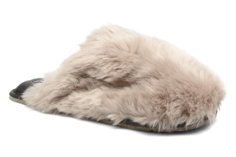 Pantuflas BEDROOM ATHLETICS Gwen Gris vista de detalle / par
