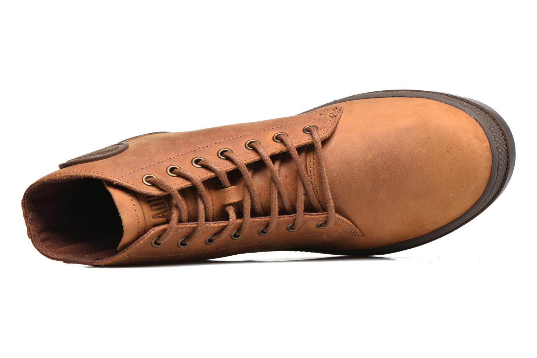 Bottines et boots Palladium Pallabosse Mid Marron vue gauche