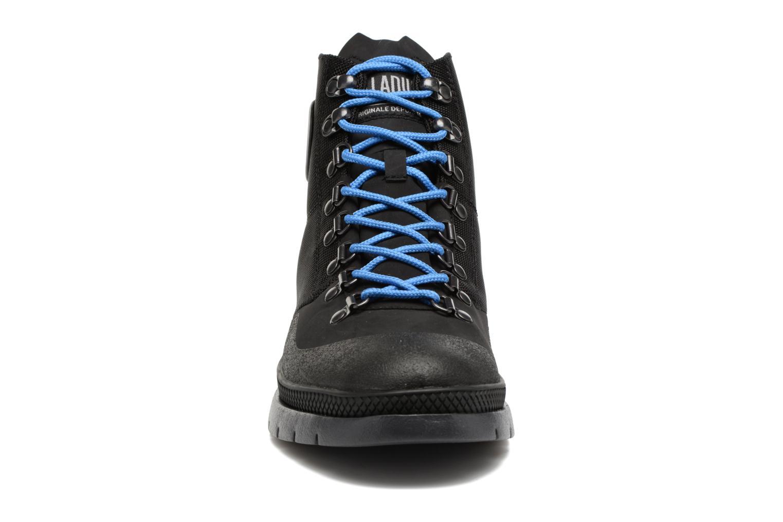Bottines et boots Palladium Pallasider HIKR Mid Noir vue portées chaussures