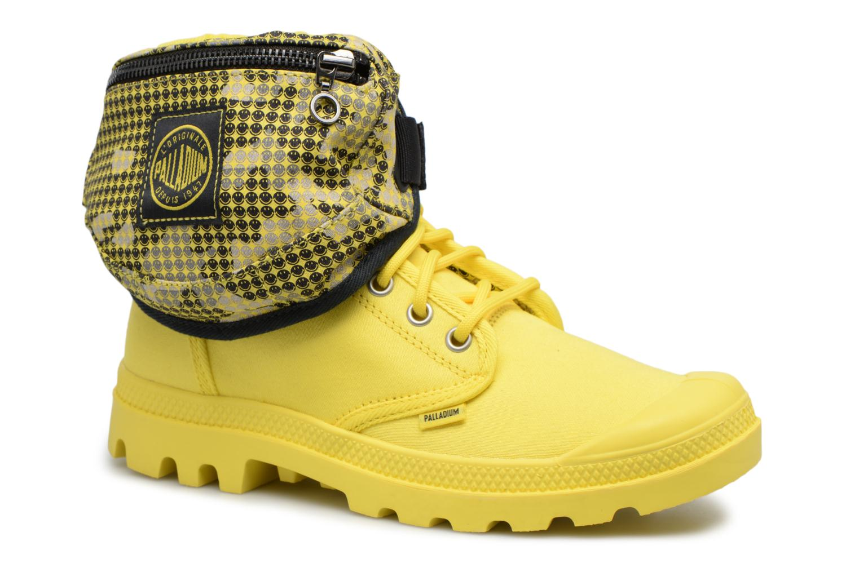 Sneakers Palladium Pampa Fest Pack Geel 3/4'