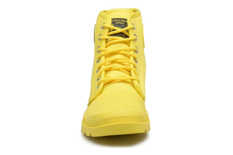 Sneaker Palladium Pampa Fest Pack gelb schuhe getragen