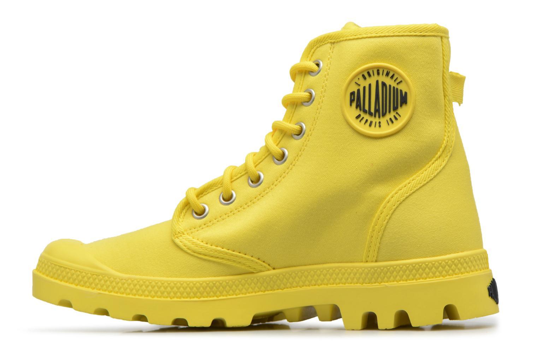 Sneakers Palladium Pampa Fest Pack Geel voorkant