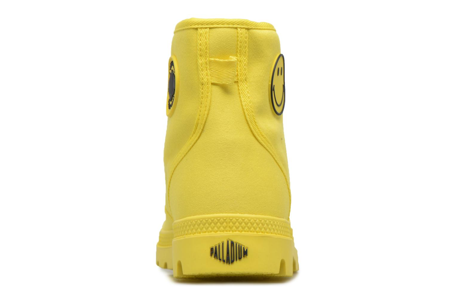 Sneakers Palladium Pampa Fest Pack Giallo immagine destra