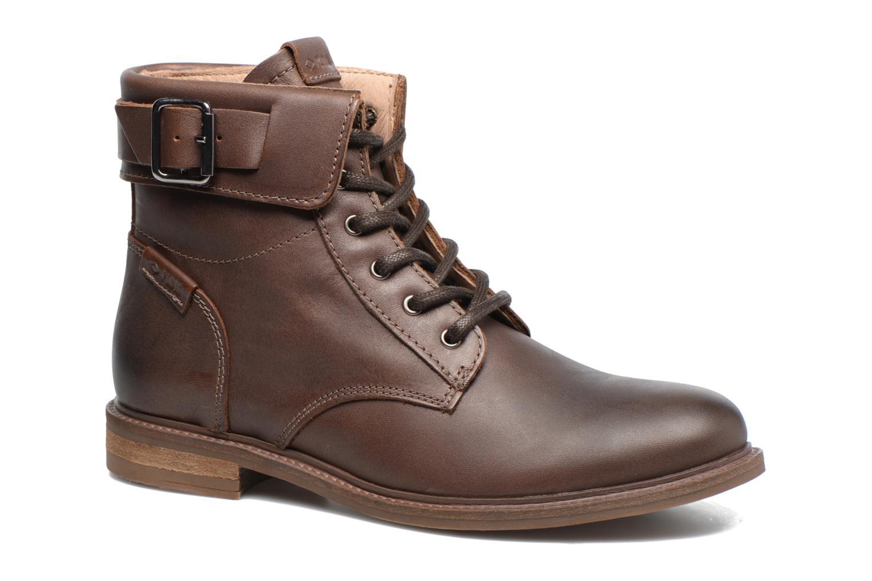Bottines et boots P-L-D-M By Palladium Nutty Grc Marron vue détail/paire