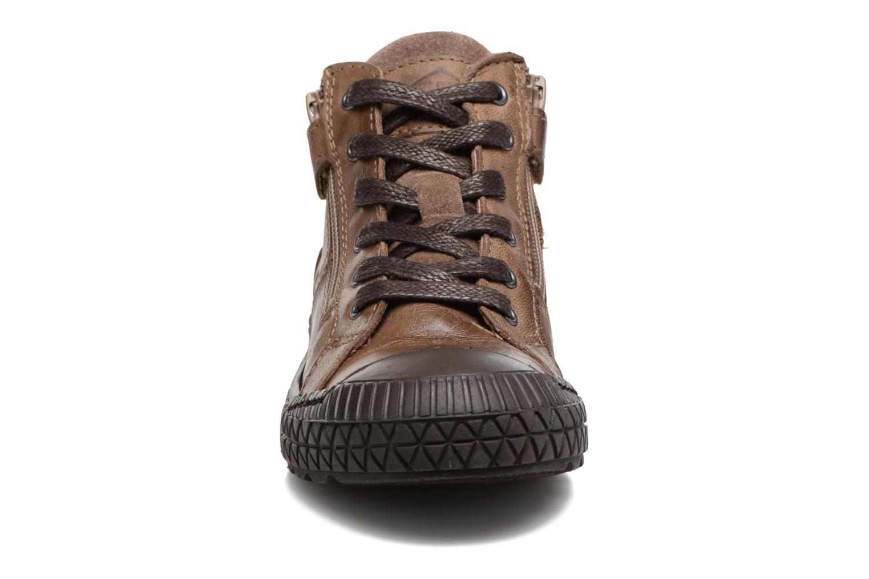 Baskets P-L-D-M By Palladium Taco Nbk K Marron vue portées chaussures