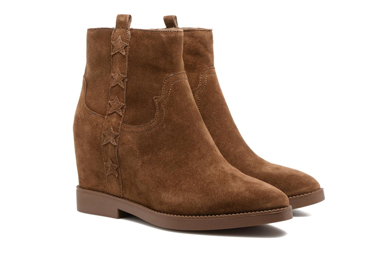 Bottines et boots Ash Goldie Marron vue 3/4