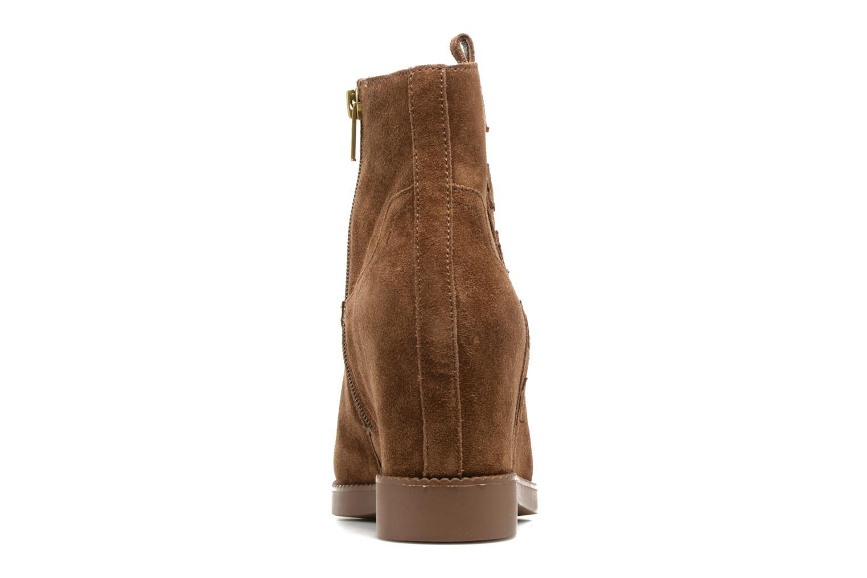 Bottines et boots Ash Goldie Marron vue droite