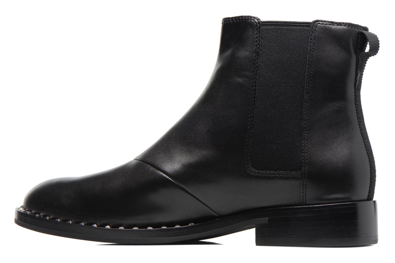 Bottines et boots Ash Wino Noir vue face