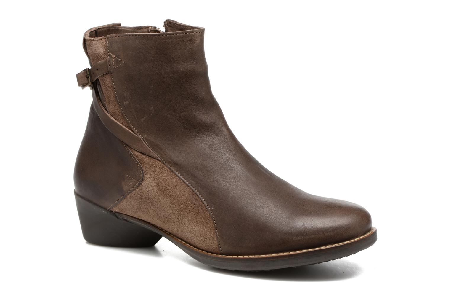 Bottines et boots TBS Golddie Marron vue détail/paire