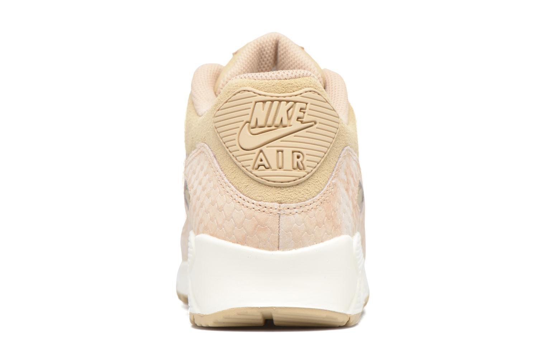 Baskets Nike Wmns Air Max 90 Prm Beige vue droite