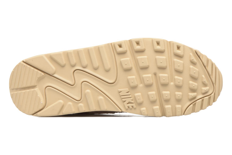 Baskets Nike Wmns Air Max 90 Prm Beige vue haut