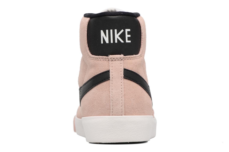 Baskets Nike Wmns Blazer Mid Vntg Suede Rose vue droite