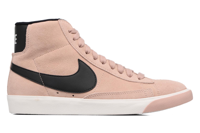 Baskets Nike Wmns Blazer Mid Vntg Suede Rose vue derrière