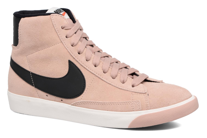 Baskets Nike Wmns Blazer Mid Vntg Suede Rose vue détail/paire