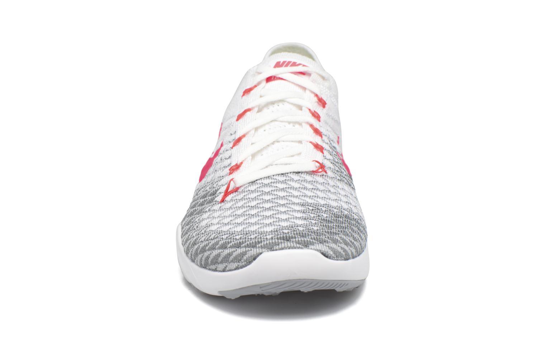 Sportschuhe Nike Wmns Nike Free Tr Flyknit 2 rosa schuhe getragen