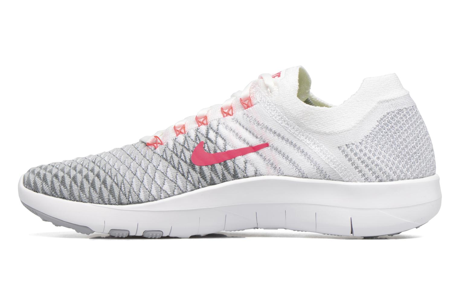 Chaussures de sport Nike Wmns Nike Free Tr Flyknit 2 Rose vue face