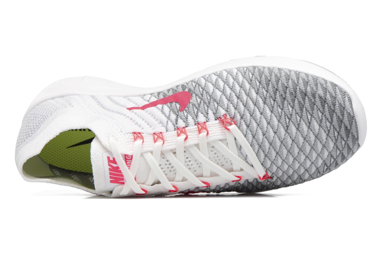 Wmns Nike Free Tr Flyknit 2 White/Hyper Punch-Wolf Grey-Cool Grey