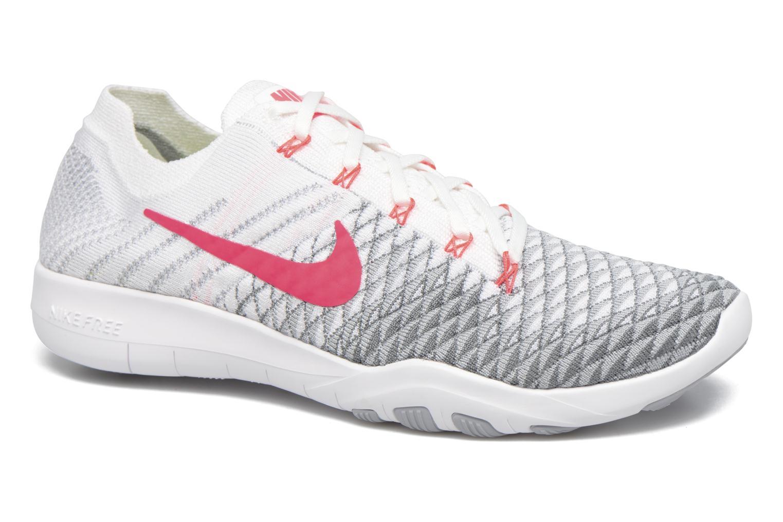 Wmns Nike Free Tr Flyknit 2 White/Hyper Punch-Wolf Grey-Cool Grey