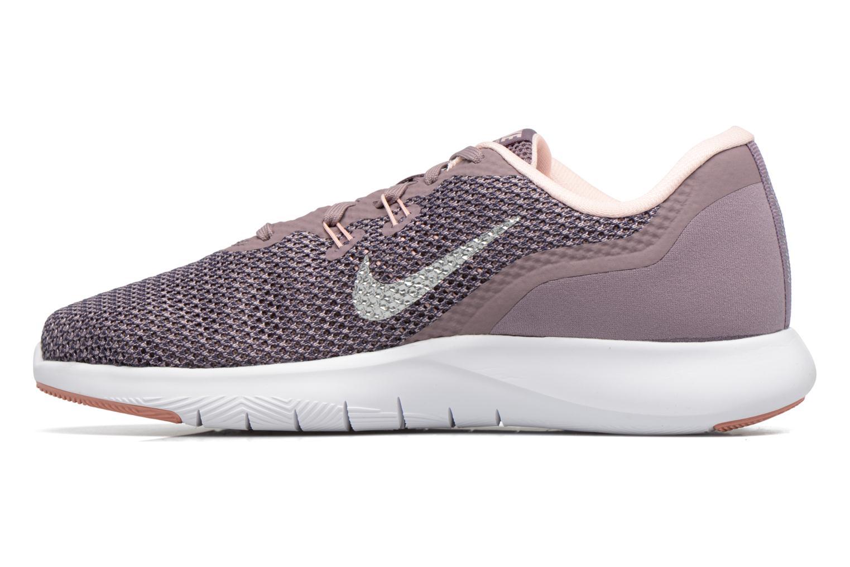 W Nike Flex Trainer 7 Bionic Taupe Grey/Metallic Silver-Sunset Tint