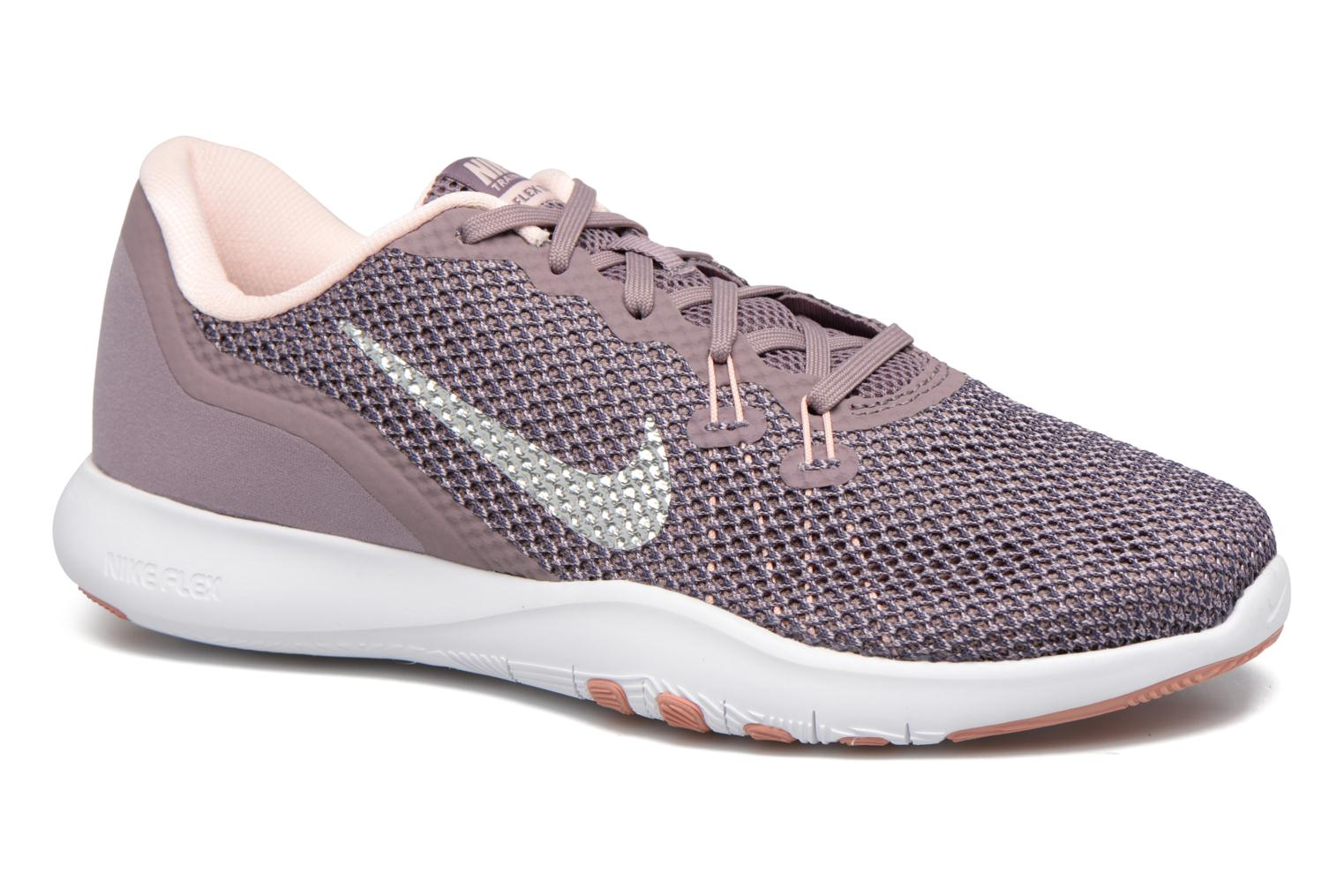 W Nike Flex Trainer 7 Bionic Taupe Grey/Metallic Silver-Sunset Tint