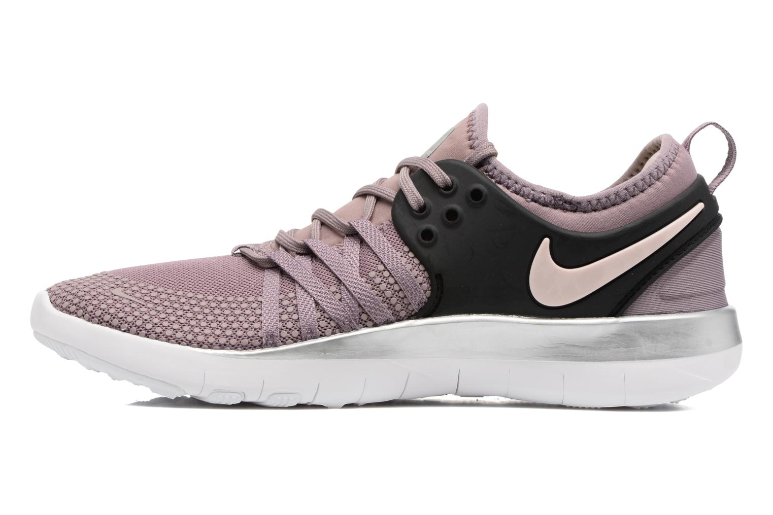 Wmns Nike Free Tr 7 Bionic Taupe Grey/Black-Sunset Tint-Chrome