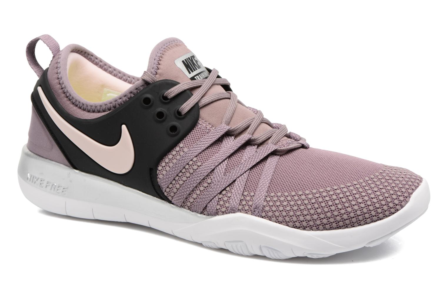 Marques Chaussure femme Nike femme Wmns Nike Free Tr 7 Bionic Taupe Grey/Black-Sunset Tint-Chrome