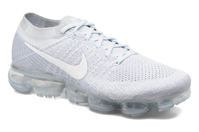 Chaussures de sport Nike Nike Air Vapormax Flyknit Bleu vue détail/paire