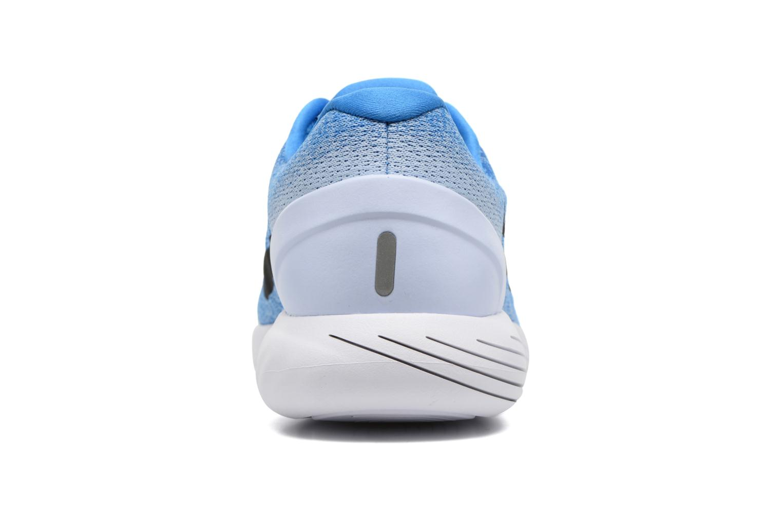 Sport shoes Nike Nike Lunarglide 9 Blue view from the right