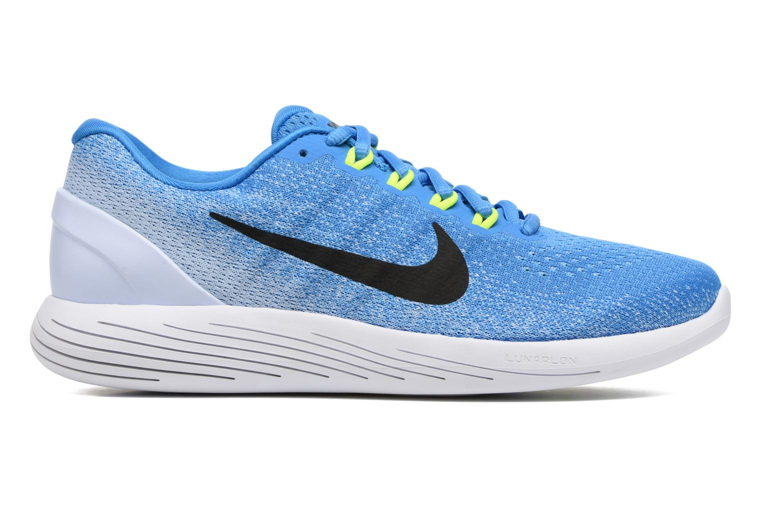 Sport shoes Nike Nike Lunarglide 9 Blue back view