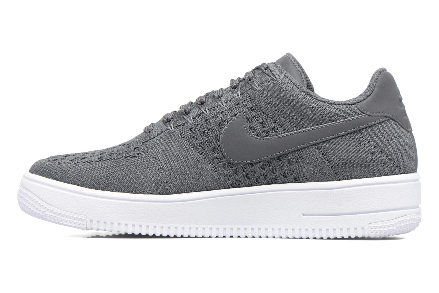 Baskets Nike Af1 Ultra Flyknit Low Gris vue face