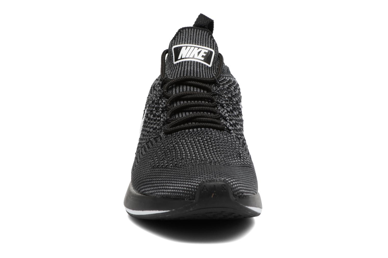 Baskets Nike Air Zoom Mariah Flyknit Racer Noir vue portées chaussures