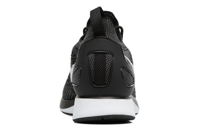 Air Zoom Mariah Flyknit Racer Black white-Dark grey