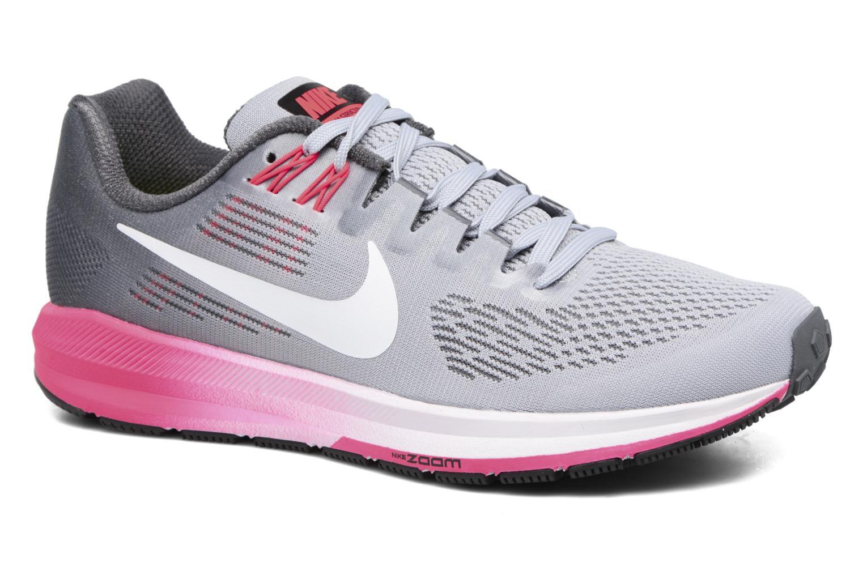 Chaussures de sport Nike W Nike Air Zoom Structure 21 Gris vue détail/paire