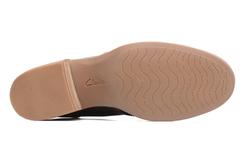 Chaussures à lacets Clarks Maypearl Flora Marron vue haut
