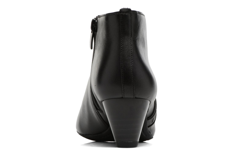 Bottines et boots Clarks Denny Frances Noir vue droite