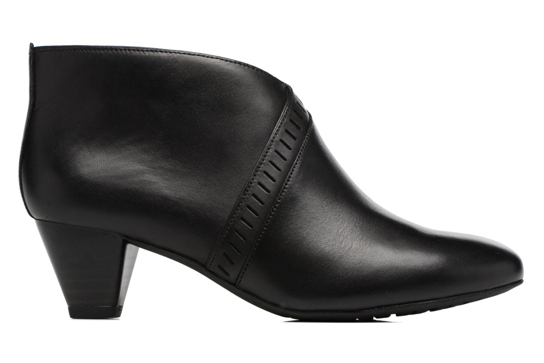 Bottines et boots Clarks Denny Frances Noir vue derrière