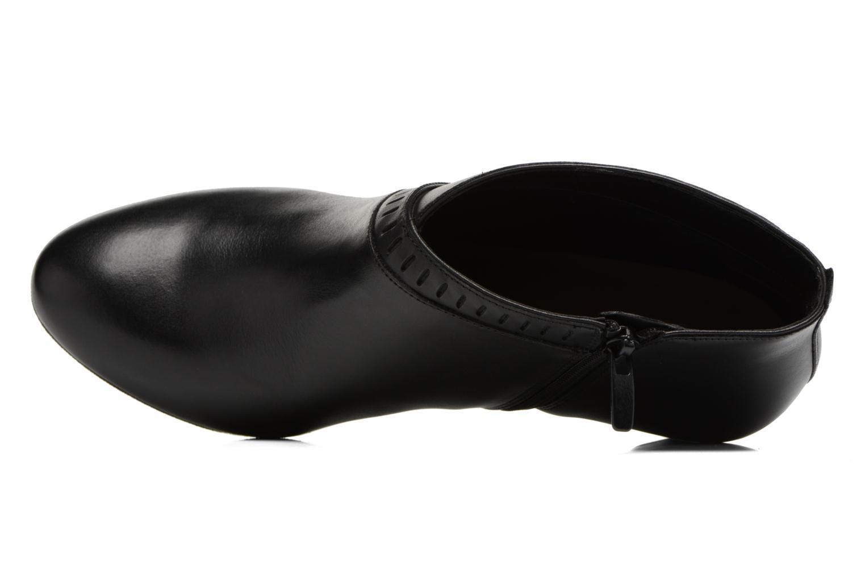 Bottines et boots Clarks Denny Frances Noir vue gauche