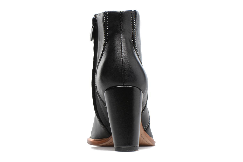 Bottines et boots Clarks Ellis Betty Noir vue droite