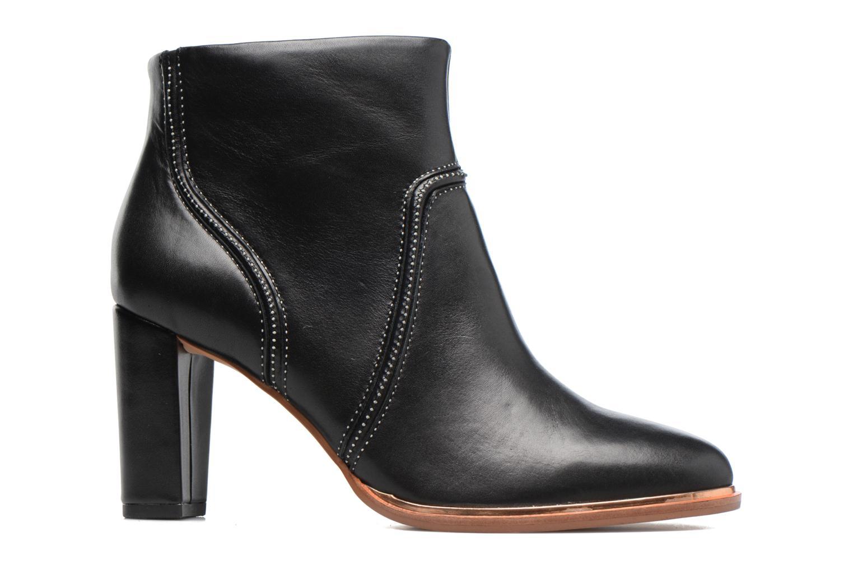 Bottines et boots Clarks Ellis Betty Noir vue derrière