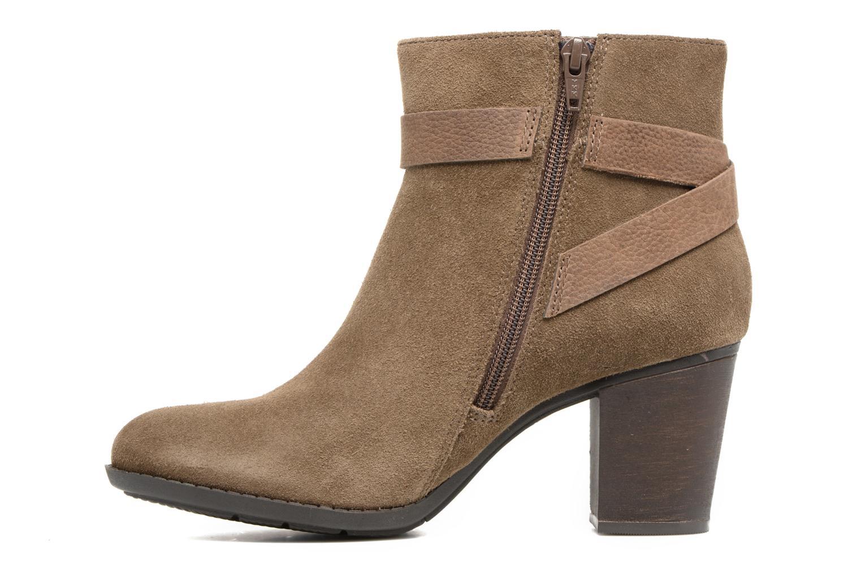 Bottines et boots Clarks Enfield Sari Beige vue face