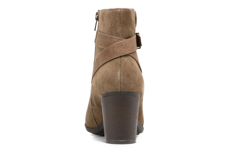 Bottines et boots Clarks Enfield Sari Beige vue droite