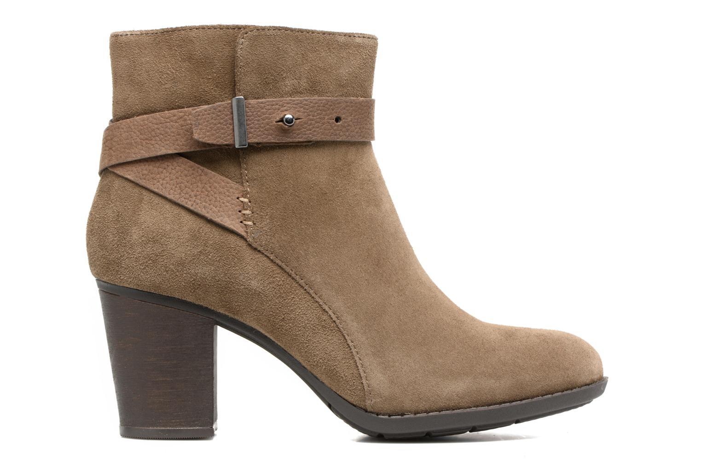 Bottines et boots Clarks Enfield Sari Beige vue derrière