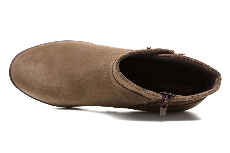 Bottines et boots Clarks Enfield Sari Beige vue gauche