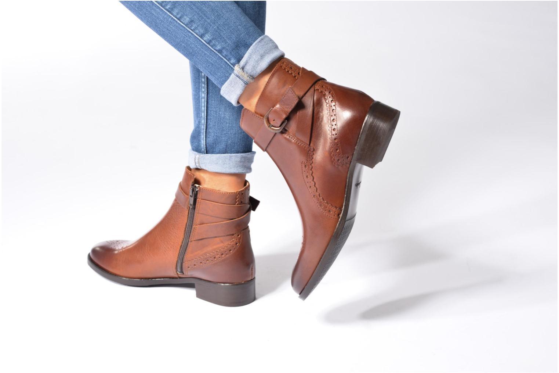 Boots en enkellaarsjes Clarks Netley Olivia Zwart onder