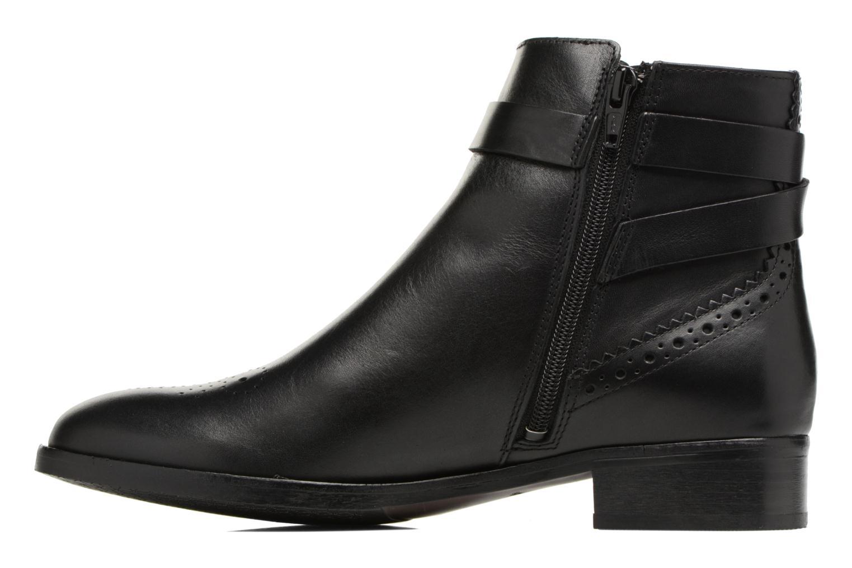 Boots en enkellaarsjes Clarks Netley Olivia Zwart voorkant