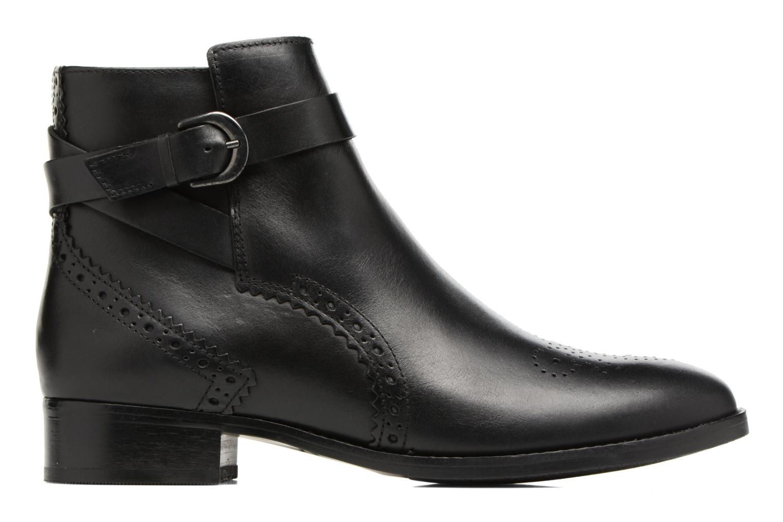 Boots en enkellaarsjes Clarks Netley Olivia Zwart achterkant